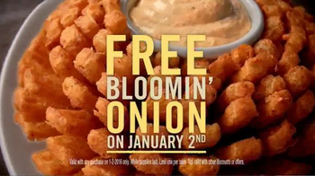 Outback Steakhouse TV Spot, '2016: Free Bloomin' Onion' - Thumbnail 3