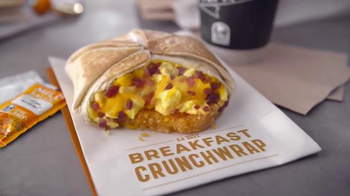Taco Bell Breakfast Crunchwrap TV Spot, 'More of a Meal' - Thumbnail 9