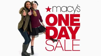 Macy's One Day Sale TV Spot, 'Deals of the Day: Additional Discounts' - Thumbnail 5
