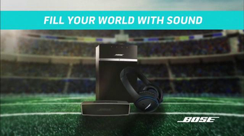 Bose TV Spot, 'NFL Loudest Stadiums' - 1 commercial airings