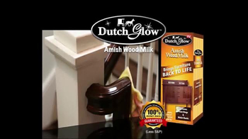 Dutch Glow Amish Wood Milk TV Spot, 'Restore Furniture' - Thumbnail 1