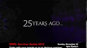 Fios by Verizon Pay-Per-View TV Spot, 'WWE Survivor Series' - Thumbnail 1