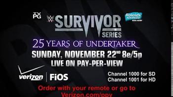 Fios by Verizon Pay-Per-View TV Spot, 'WWE Survivor Series'