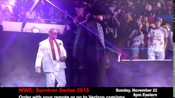 Fios by Verizon Pay-Per-View TV Spot, 'WWE Survivor Series' - Thumbnail 2