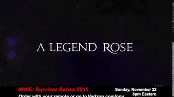 Fios by Verizon Pay-Per-View TV Spot, 'WWE Survivor Series' - Thumbnail 3