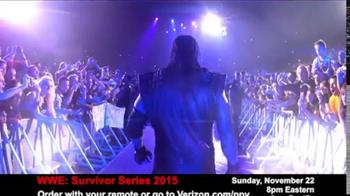 Fios by Verizon Pay-Per-View TV Spot, 'WWE Survivor Series' - Thumbnail 4