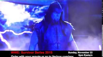 Fios by Verizon Pay-Per-View TV Spot, 'WWE Survivor Series' - Thumbnail 5