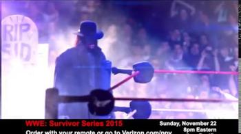 Fios by Verizon Pay-Per-View TV Spot, 'WWE Survivor Series' - Thumbnail 6
