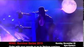 Fios by Verizon Pay-Per-View TV Spot, 'WWE Survivor Series' - Thumbnail 7