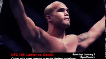 Fios by Verizon Pay-Per-View TV Spot, 'UFC 195: Lawler vs. Condit' - Thumbnail 1