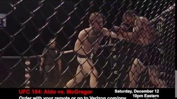 Fios by Verizon Pay-Per-View TV Spot, 'UFC 194: Aldo vs. McGregor' - Thumbnail 4