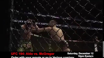 Fios by Verizon Pay-Per-View TV Spot, 'UFC 194: Aldo vs. McGregor' - Thumbnail 5