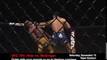 Fios by Verizon Pay-Per-View TV Spot, 'UFC 194: Aldo vs. McGregor' - Thumbnail 6