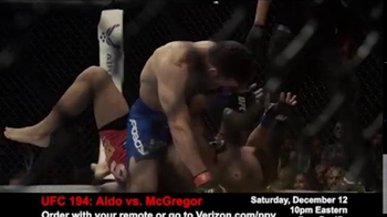 Fios by Verizon Pay-Per-View TV Spot, 'UFC 194: Aldo vs. McGregor' - Thumbnail 7
