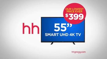 h.h. gregg TV Spot, 'New Year's Resolution: TVs' - Thumbnail 7