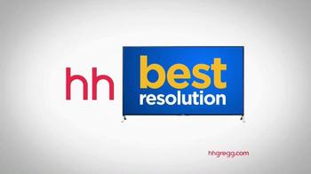 h.h. gregg TV Spot, 'New Year's Resolution: TVs' - Thumbnail 9