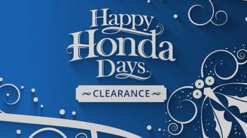Happy Honda Days Clearance TV Spot, 'One Incredible Sale: Final Days' - Thumbnail 3