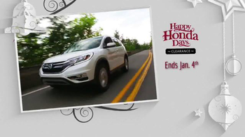 Happy Honda Days Clearance TV Spot, 'One Incredible Sale: Final Days' - Thumbnail 4