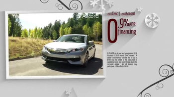 Happy Honda Days Clearance TV Spot, 'One Incredible Sale: Final Days' - Thumbnail 9