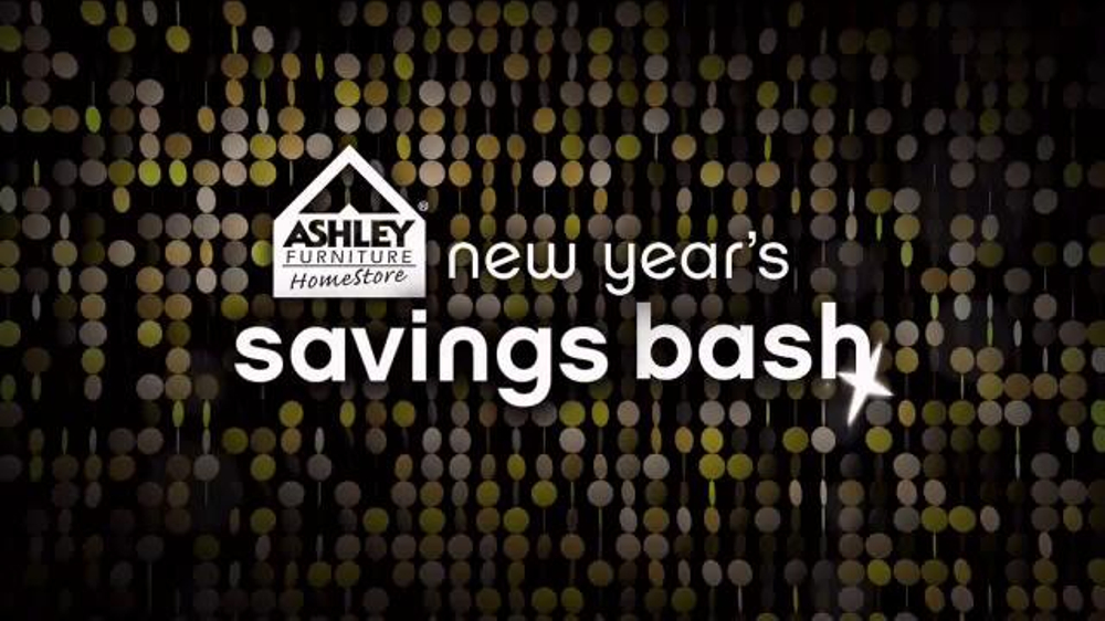 Ashley Furniture Homestore New Year's Savings Bash TV Commercial, 'Ring in 2016'