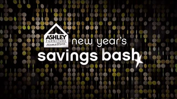 Ashley Furniture Homestore New Year's Savings Bash TV Spot, 'Ring in 2016'