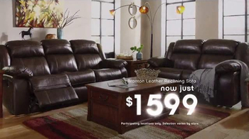Ashley Furniture Homestore New Year's Savings Bash TV Spot, 'Ring in 2016' - Thumbnail 6