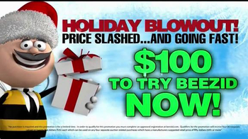 Beezid Holiday Blowout TV Spot, 'Holiday Gift' - 14 commercial airings