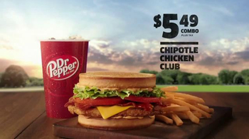Jack in the Box Chipotle Chicken Club TV Spot, 'Fireman' - Thumbnail 9