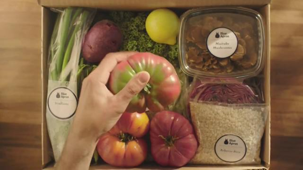 Blue Apron TV Commercial, 'Heirloom Tomato'