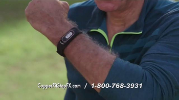 Copper Fit Step FX TV Spot, 'Track Your Goals' Featuring Brett Favre - Thumbnail 4