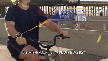 Copper Fit Step FX TV Spot, 'Track Your Goals' Featuring Brett Favre - Thumbnail 6