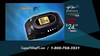 Copper Fit Step FX TV Spot, 'Track Your Goals' Featuring Brett Favre - Thumbnail 7