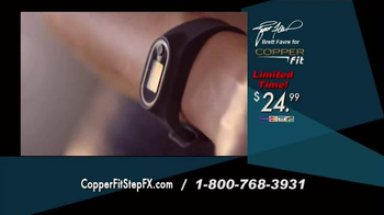 Copper Fit Step FX TV Spot, 'Track Your Goals' Featuring Brett Favre - Thumbnail 8