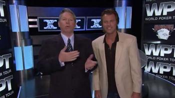 WPT Cruise TV Spot, 'Poker in Paradise' Featuring Vince Van Patten - Thumbnail 1