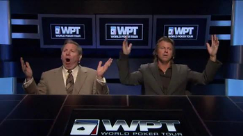 WPT Cruise TV Spot, 'Poker in Paradise' Featuring Vince Van Patten - Thumbnail 2