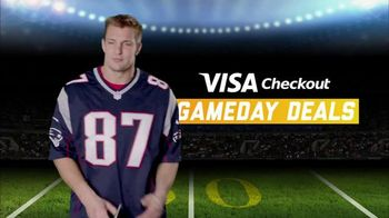 NFL Shop TV Spot, 'Visa Gameday Deals' Featuring Rob Gronkowski - 2 commercial airings