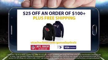 NFL Shop TV Spot, 'Visa Gameday Deals' Featuring Rob Gronkowski - Thumbnail 7