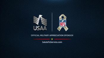 USAA TV Spot, 'Salute to Service: 2016 Pro Bowl' - Thumbnail 10