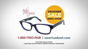 America's Best Contacts and Eyeglasses Designer Sale TV Spot, 'Turn Heads' - Thumbnail 9