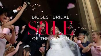 David's Bridal Biggest Bridal Sale TV Spot, 'Select Dresses' - Thumbnail 1