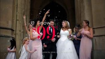David's Bridal Biggest Bridal Sale TV Spot, 'Select Dresses' - Thumbnail 3