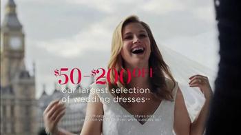 David's Bridal Biggest Bridal Sale TV Spot, 'Select Dresses' - Thumbnail 4