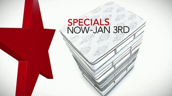 Macy's Biggest Mattress Sale TV Spot, 'Holiday Specials' - Thumbnail 1