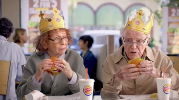 Burger King Flame Grilled Chicken Burger TV Spot, 'Getting Old' - Thumbnail 2