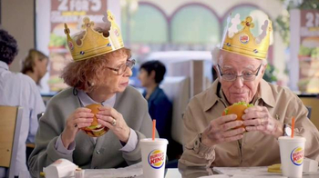 Burger King Flame Grilled Chicken Burger TV Spot, 'Getting Old'