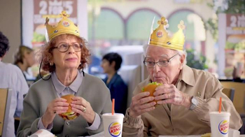 Burger King Flame Grilled Chicken Burger TV Spot, 'Getting Old' - Thumbnail 6