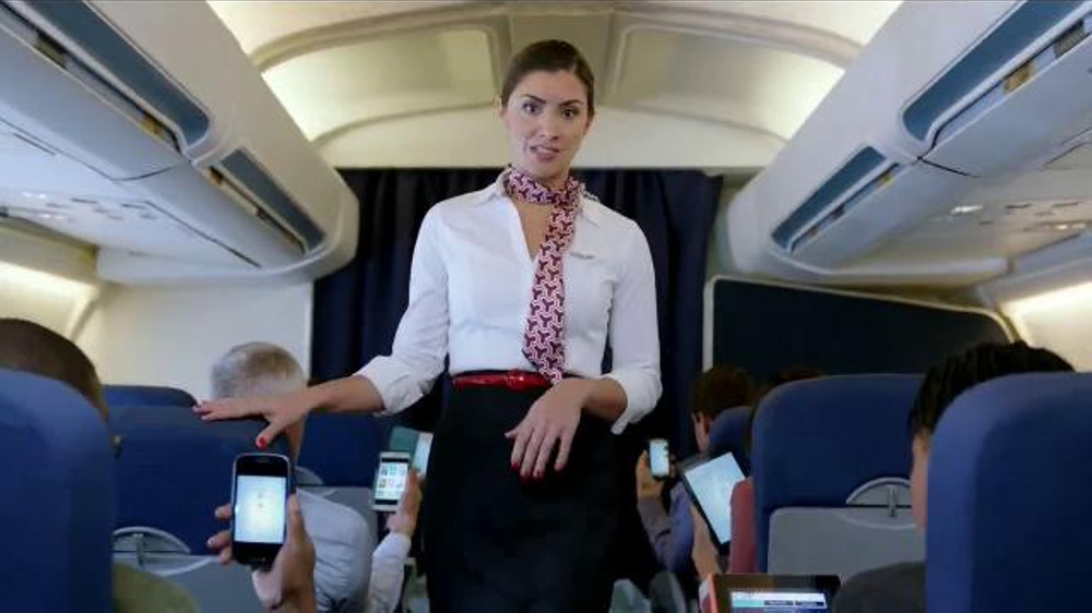Texture TV Commercial, 'Flight Attendant'
