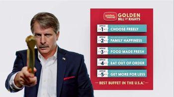 Golden Corral Breakfast TV Spot, 'Peaches and Cream Waffles' - Thumbnail 1