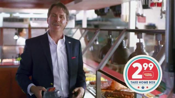 Golden Corral Take Home Box TV Spot, 'Another Meal' Feat. Jeff Foxworthy - 2763 commercial airings
