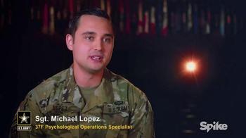 U.S. Army TV Spot, 'Spike TV: Sgt. Michael Lopez'